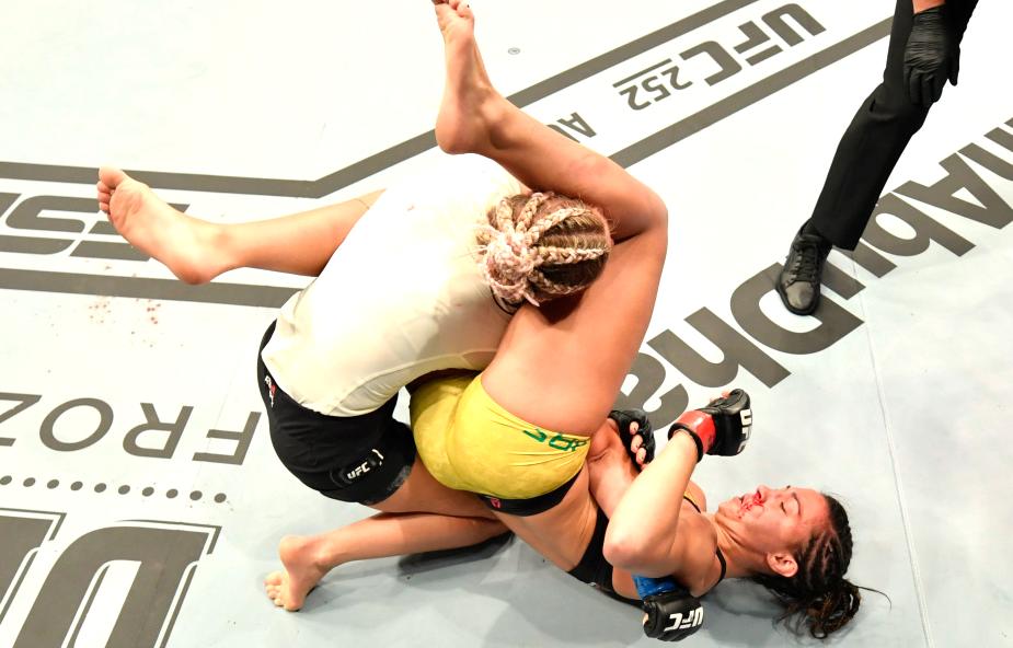Amanda Ribas & Paige VanZant fighting at UFC