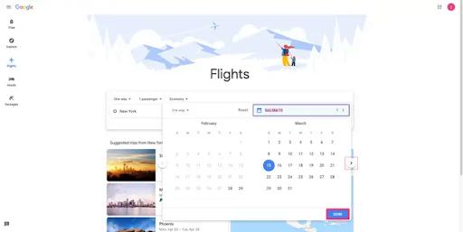 CONFIRM YOUR FLIGHT DETAILS
