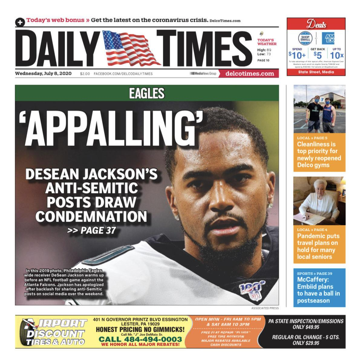 DeSean JACKSON Daily Times