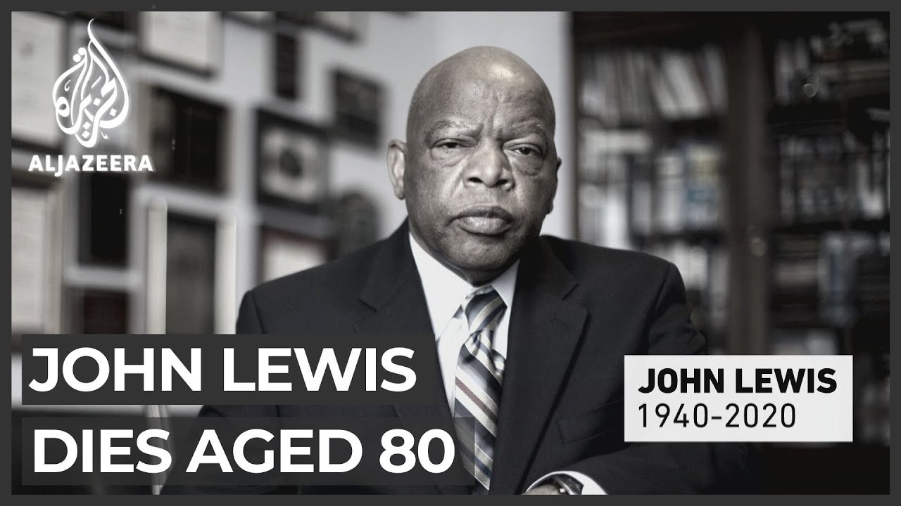 JOHN LEWIS' DIES AT THE AGE OF 80