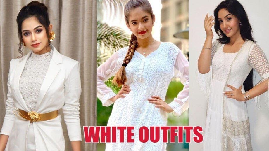 Jannat Zubair, Anushka Sen, and Ashnoor Kaur looks Elegant in white attires