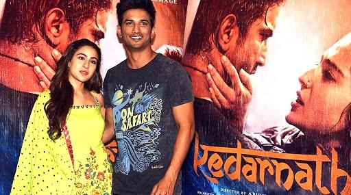 Sushant Singh Rajput and Sara Ali Khan