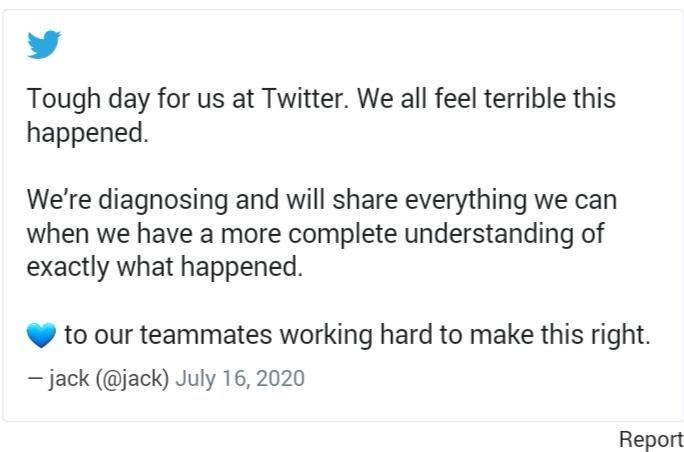Twitter Company Tweet