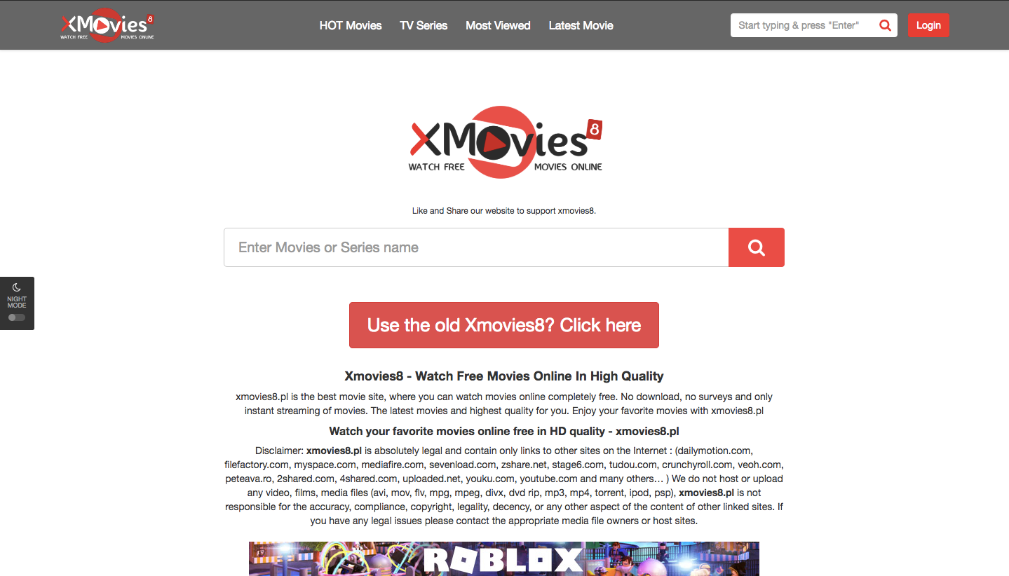 XMOVIES8 DIFFERENT DOMAINS