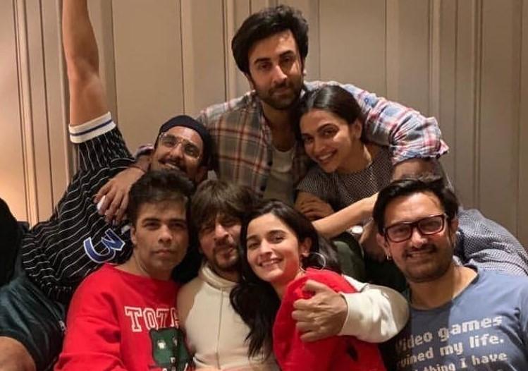 throwback photos of Shah Rukh Khan, Deepika Padukone, Amir Khan