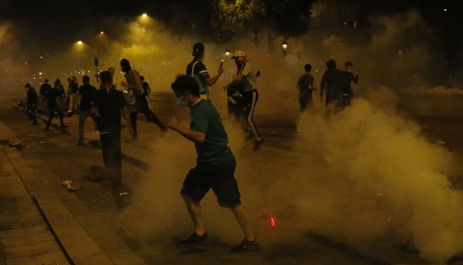 148 arrested in Paris after PSG's Champions League final defeat