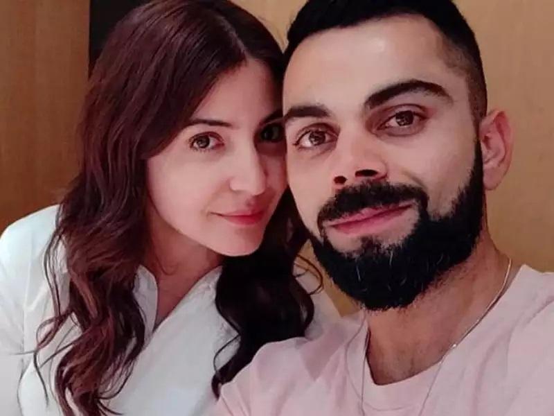 Anushka Sharma and Virat Kohli Selfie 1