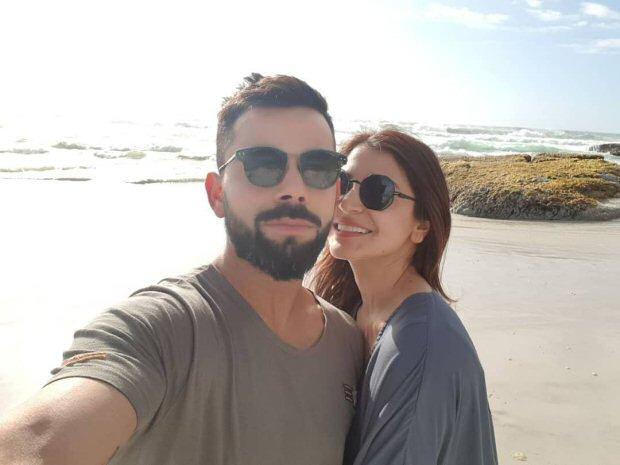 Anushka Sharma and Virat Kohli Selfie 3