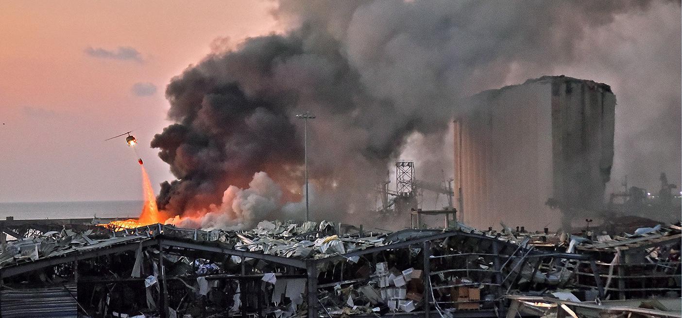 Beirut explosion Lebanon