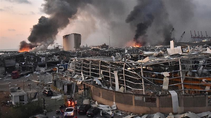 Beirut explosion death