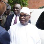 Mali president quit his job