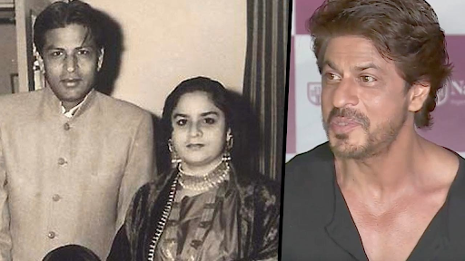 Shah Rukh Khan's father and mother