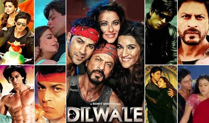 Shah Rukh Khan Famous Romantic Roles