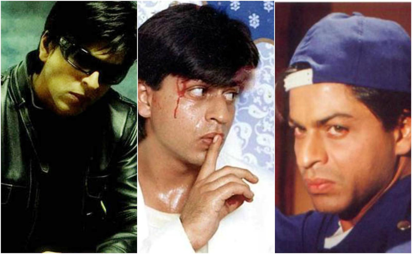 Shah Rukh Khan Negative Roles