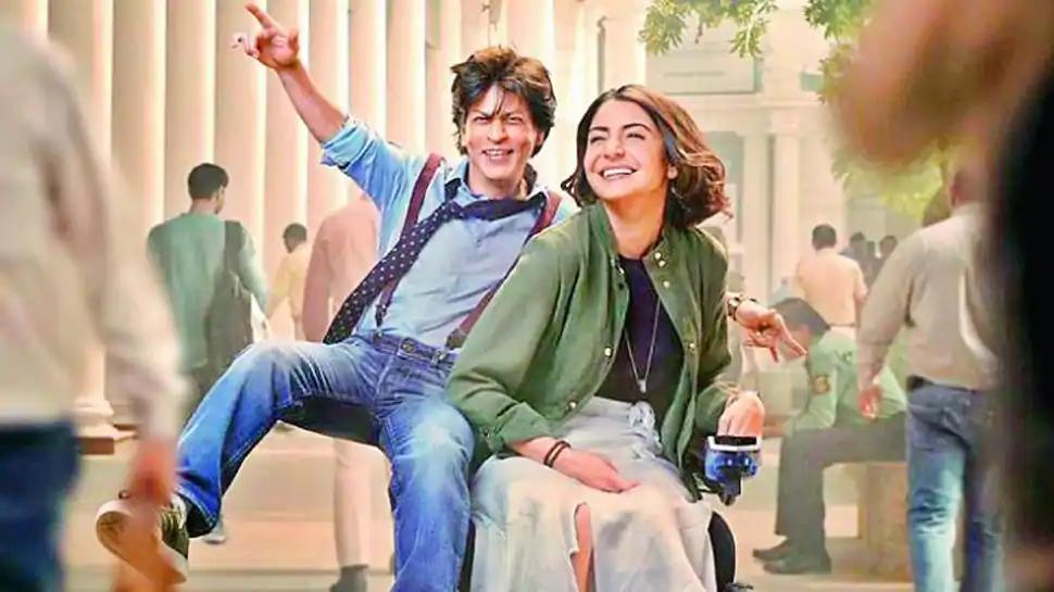 Shah Rukh Khan with Anushka in Zero