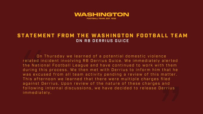 team released the statement