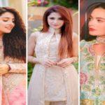 Pakistani Celebrities in Eid attires