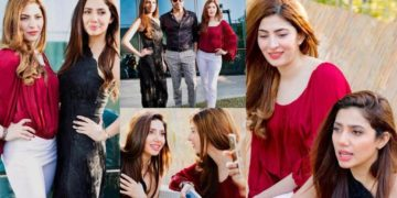 Naimal Khawar and Mahira Khan Most cutest Pictures