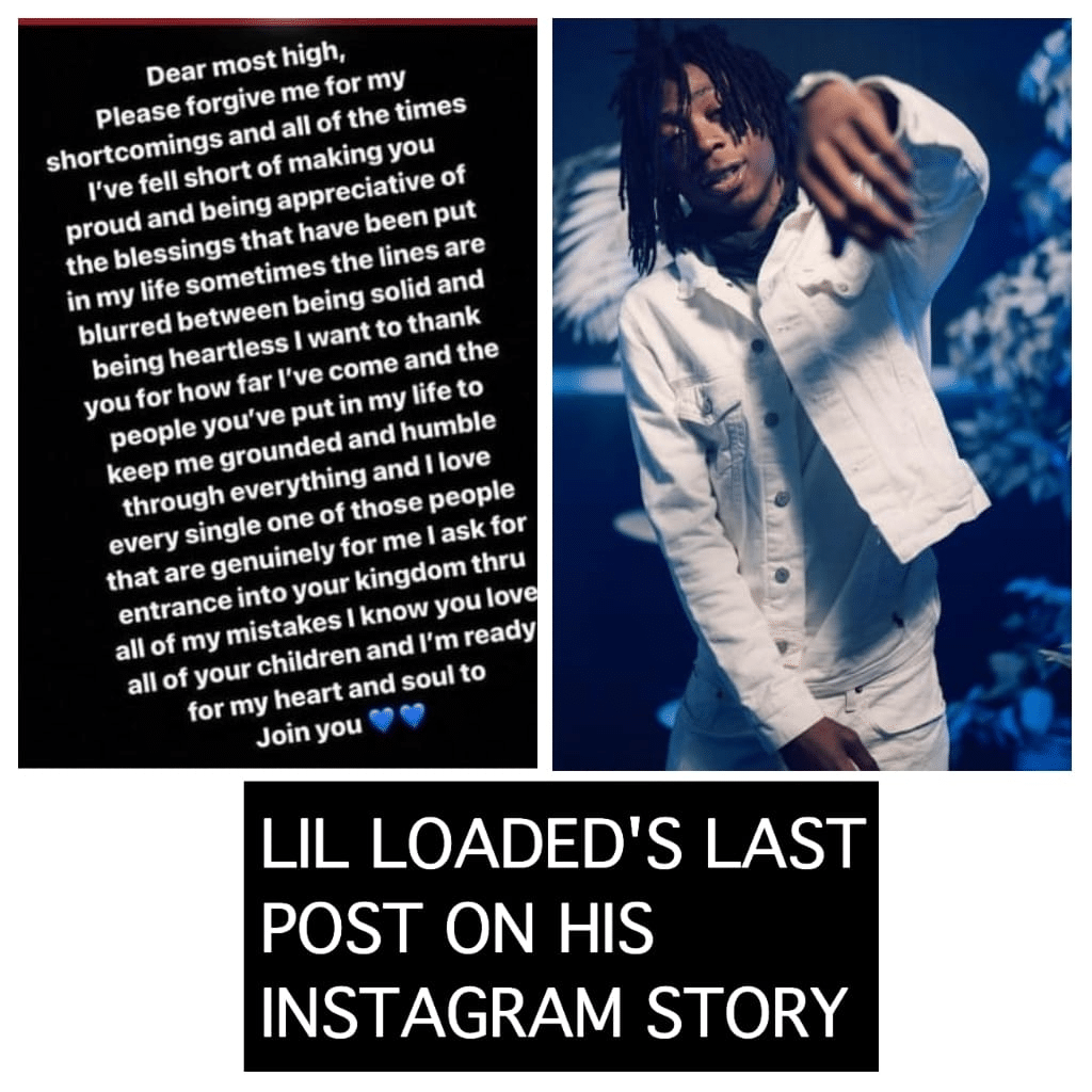Lil Loaded Texas rapper passed away 2000-2021